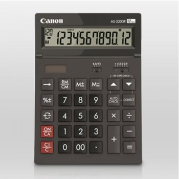 Canon AS-2200R Desktop 12 Digits Calculator