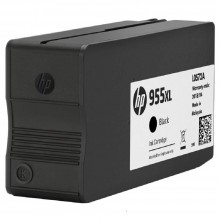 HP 955XL Black Original Ink Cartridge (L0S72AA)