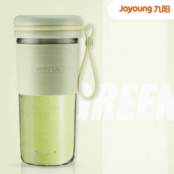Joyoung Multi-functional Household Small Portable Rechargeable Automatic Juicer Blender Accompanying Mixing Cup - Green