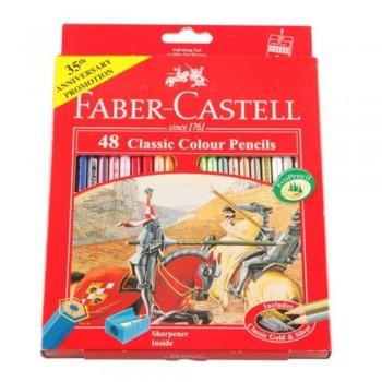 Faber Castell Classic Colouring Pencil-48L (Item No: B05-03) A1R2B191