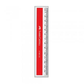 Faber Castell Plastic Ruler 15cm (178315)