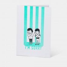 Letterpress Card - I'm Sorry