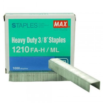 MAX Staples 1210FA-H Bullet - 3/8 (item No:B07-19)  A1R2B250