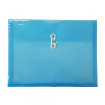 A4 Top Open Document Holder Blue