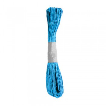 Colorful Paper Rope 25meters - Light Blue