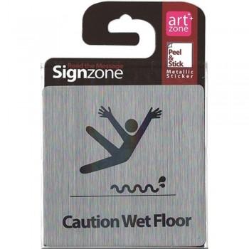Signzone Peel & Stick Metallic Sticker - C (Item No: R01-42)