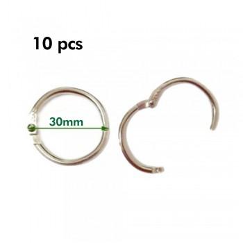 Card Ring 30mm 10pcs/pkt