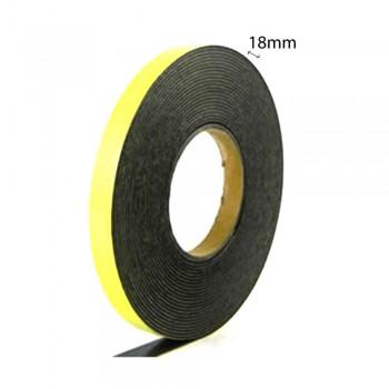 Double Sided Eva Foam Tape (Black) - 18mm X 8m