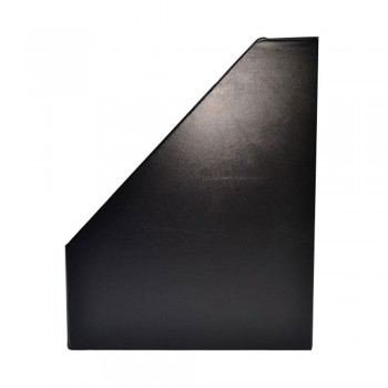 """5"""" PVC Magazine Box File - Black"""