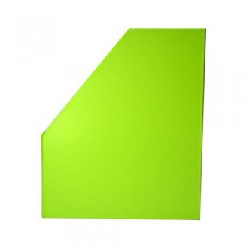 """5"""" PVC Magazine Box File - Fancy Green"""