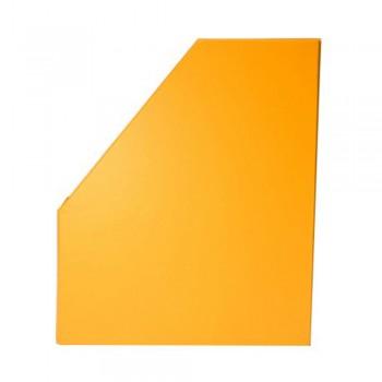 "5"" PVC Magazine Box File - Fancy Orange"