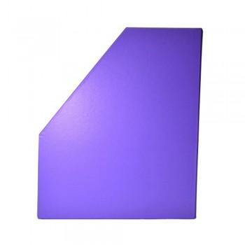 "5"" PVC Magazine Box File - Fancy Purple"