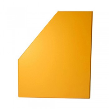 "6"" PVC Magazine Box File - Fancy Orange"