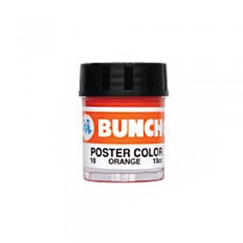Buncho PC15CC Poster Color 10 Orange - 6/Box