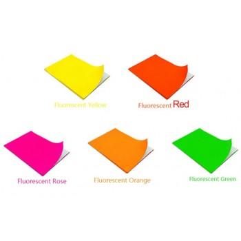 Fluorescent Sticker A4 Size (10pcs/set) - Green