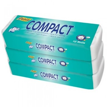 CUTIE Compact Toilet Tissue (3 pack) Value pack