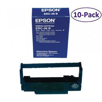 Epson ERC-38 Black Ribbon (10 in 1)