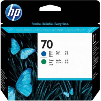 HP 70 DesignJet Printhead - Photo Blue/Green (C9408A)