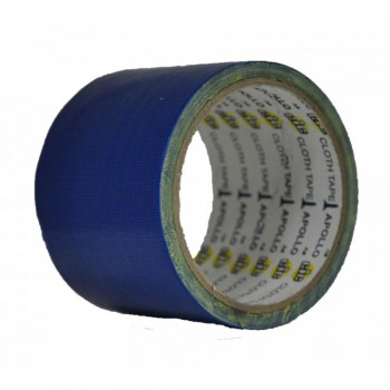 Apollo Premium Cloth Tape 36mm x 6yards Blue