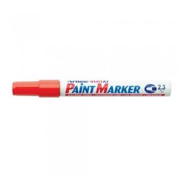 Artline 400XF Paint Marker Pen - 2.3mm Bullet Nib - Orange