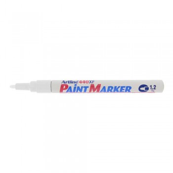 Artline 440XF Paint Marker 1.2mm - White