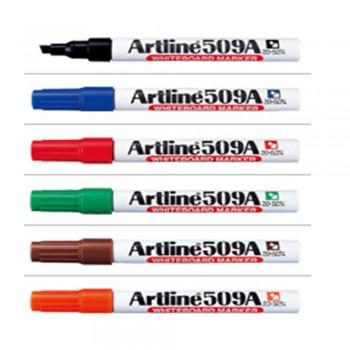 Artline 509A Whiteboard Marker Set EK-509A/6W - 6 Colors