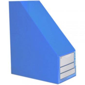 "CBE 06813 5"" PVC Box File (A4) BLUE"