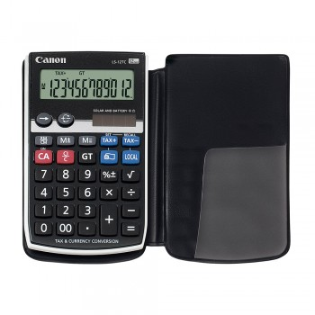 Canon LS-12TC 12 Digits Handheld Calculator with Cover