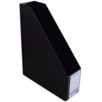 """EAST FILE PVC MAGAZINE BOX 412 3"""" Black (Item No: B11-94 BK)"""