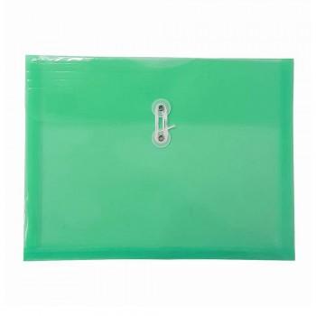 A4 Top Open Document Holder Green