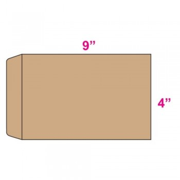 Brown Envelope - Manila - 4-inch x 9-inch