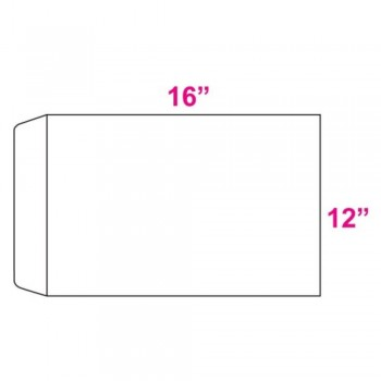 White Envelope - 100gsm-12-inch x 16-inch (A3 Size)