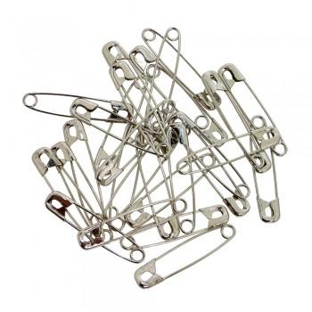 Safety Pins (1440pcs/Box) Silver