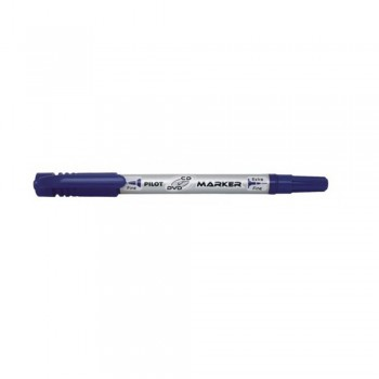 Pilot SCA-TMCD -CD/DVD Marker Pen 2 & 0.8mm - Blue