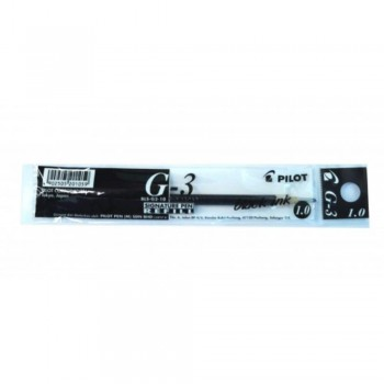 Pilot G3 Gel ink Refill 1.0mm Black (Item No: A01-08 G3RFBK1) A1R1B141