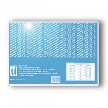EMI A4 Card Case 0.40mm