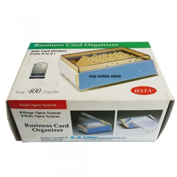 Hata Name Card Case 400 Cards (818S)
