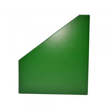 "5"" PVC Magazine Box File - Green"