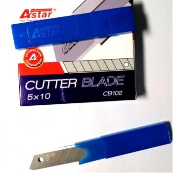 Astar Cutter Blade Replacement - 18mm, 5pcs CB101 (Big)