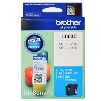 Brother LC-663C Cyan ink cartridge