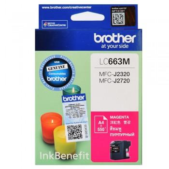 Brother LC-663M Magenta ink cartidge