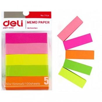 Deli 7154 Memo Pad Sticky Note