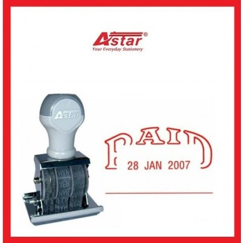 ASTAR Date and Paid Stamp