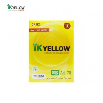 Indah Kiat IK Yellow A4 500's -70gsm
