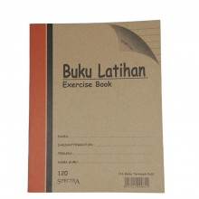 Soft Cover Exercise Book - 120Pages