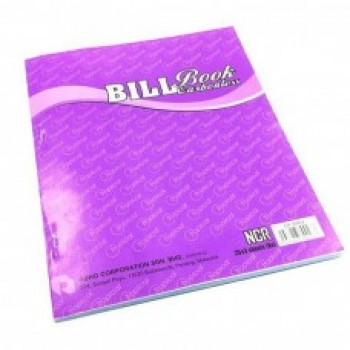 Bill Book with Numbering