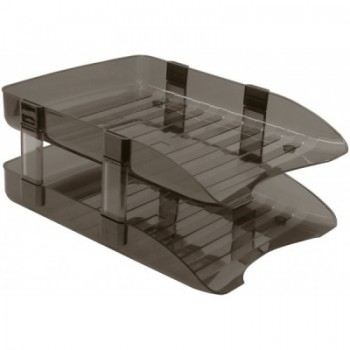 2 Tier Plastic Document Tray