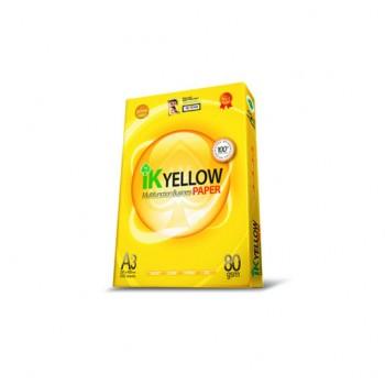 Indah Kiat IK Yellow A3 450's -80gsm