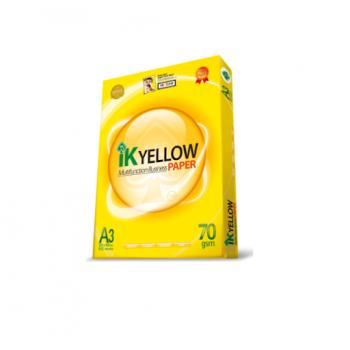 Indah Kiat IK Yellow A3 450's -70gsm