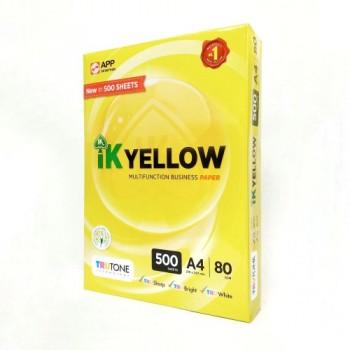 Indah Kiat IK Yellow A4 500's -80gsm